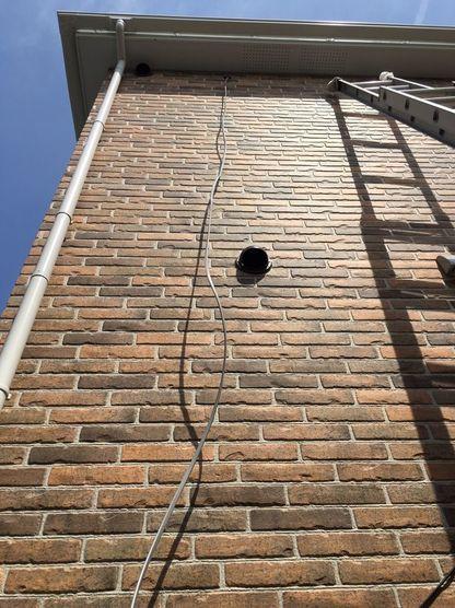 新築エアコン工事(屋外)の画像